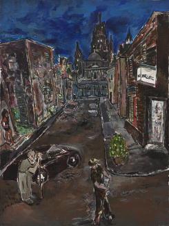 Bahia painting by Bob Dylan