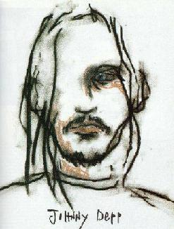 Self Portrait by Johnny Depp