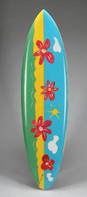 Surfboard Painted by Paul McCartney