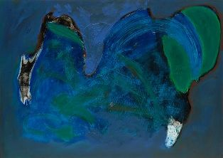 Untitled Painting by Herb Alpert