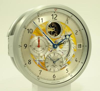 Bremont Clock with Artwork by Ronnie Wood