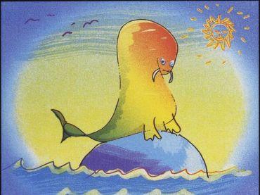 """""""A Walrus Wading"""" by John Lennon"""