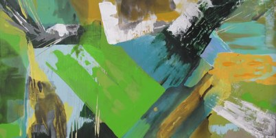 Abstract in Green by Todd Marinovich