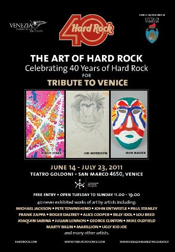 Art of Hard Rock flyer