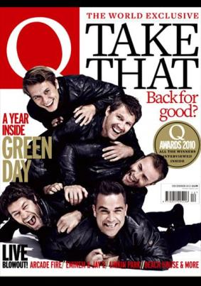 Take That, Q Magazine Cover, Photograph by Bryan Adams (2010)