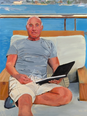 Painting by Carole Bayer Sager - David Geffen