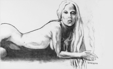 Lady Gaga Portrait by Tony Bennett
