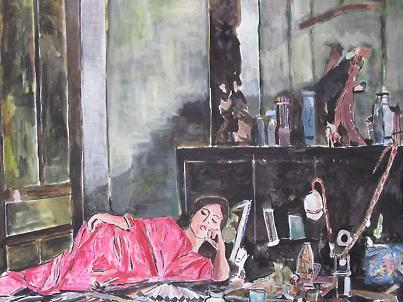 Opium, Painting by Bob Dylan