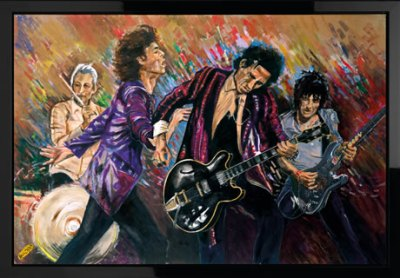 Stones on Stage – Got Me Rockin' by Ronnie Wood