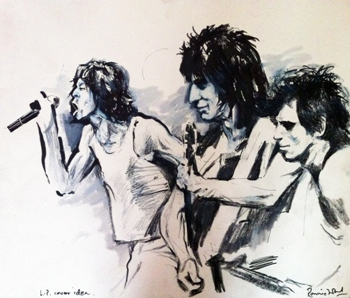 Mick, Ronnie, And Keith Study, 1979 (Credit: © Symbolic London)