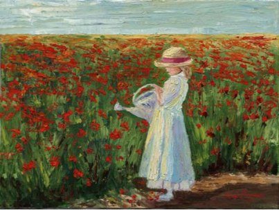 Forever Poppies painting by Jane Seymour