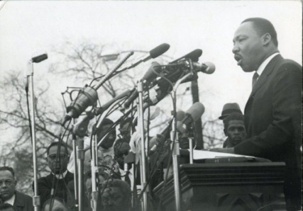 Dr. Martin Luther King, Jr., Photograph by Dennis Hopper