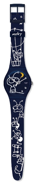 The Little Idiot Swatch Watch by Moby