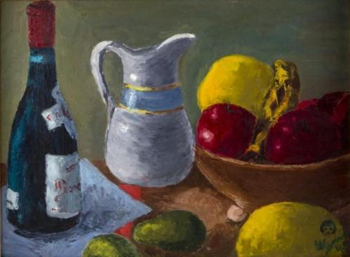 Still Life Painting by Jane Wyman