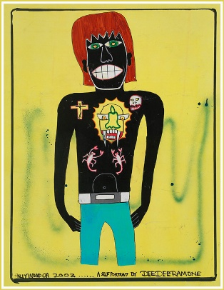 Self Portrait by Dee Dee Ramone