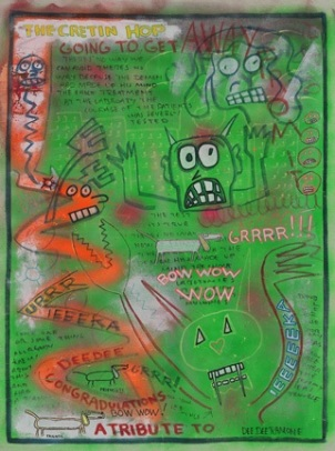Untitled (The Cretin Hop) by Dee Dee Ramone