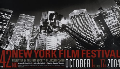 2004 NYFF Poster by Jeff Bridges