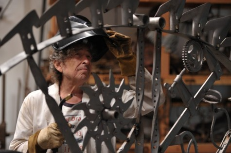 Bob Dylan Iron Works photo by John Shearer