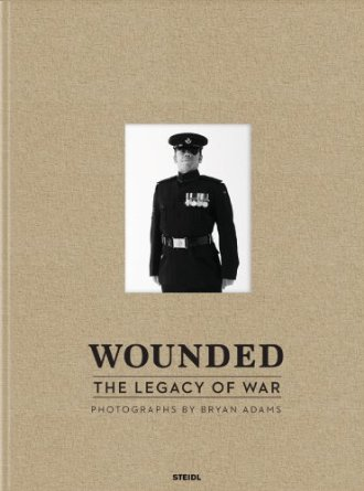 Wounded, The Legacy of War: Photographs by Bryan Adams - Book Cover