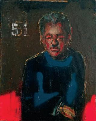 John 51 painting by John Mellencamp