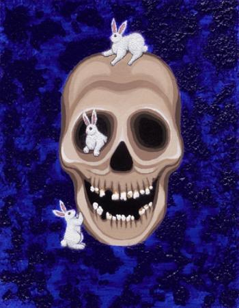 Jolly Rocker painting by Grace Slick