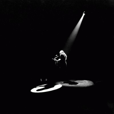 Joni Mitchell Onstage photograph by Graham Nash