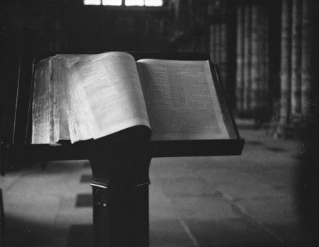 Scripture, Glasgow Cathedral, 2007 by Patti Smith