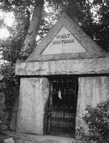 Walt Whitman's Tomb, Camden NJ, 2007 by Patti Smith