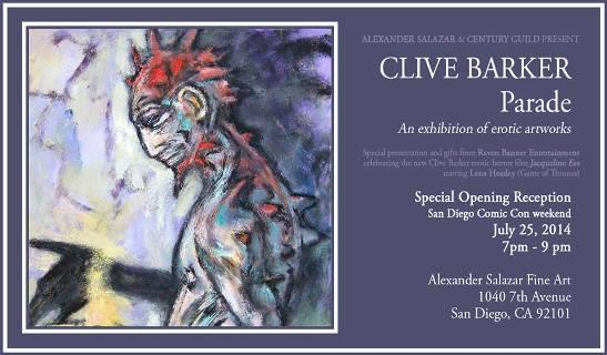 Clive Barker - Parade - Comic Con