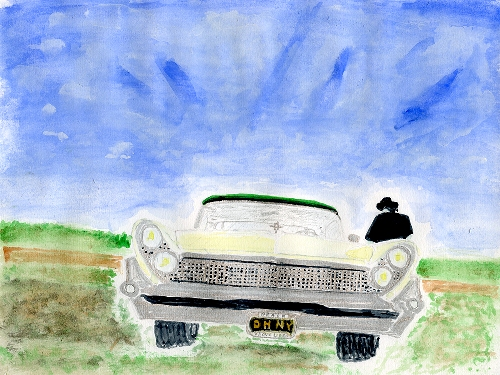Painting by Neil Young