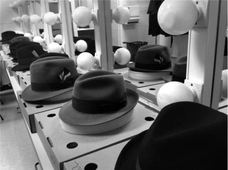The Famous Hats - Leonard Cohen Tour 2012, by Sharon Robinson