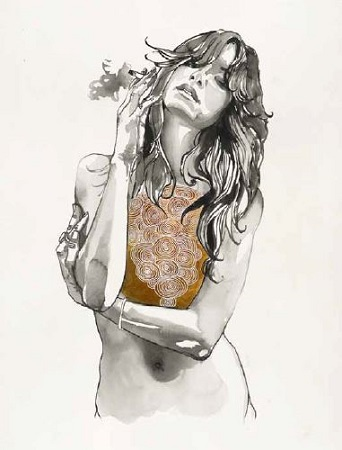 Heart of Gold, Painting by Brandon Boyd