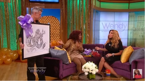 Chaka Khan on Wendy Williams Show