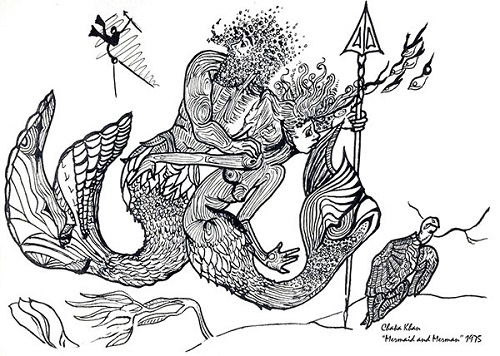 Mermaid artwork by Chaka Khan