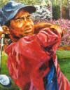 Tiger Woods by Opie Otterstad