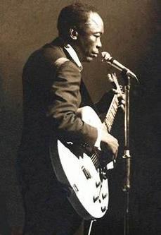 John Lee Hooker by Bill Wyman