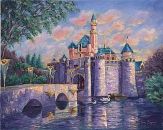 Disney's Sleeping Beauty Castle by Jane Seymour