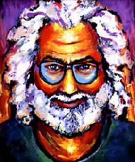 Jerry Garcia by Grace Slick