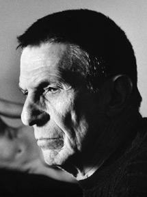 Self-portrait photograph by Leonard Nimoy