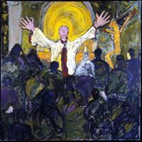 Promises – Religion painting by Anthony Quinn