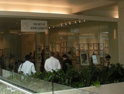 John Lennon art exhibit