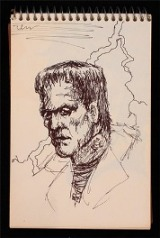 Frankenstein sketch by Micheal Jackson