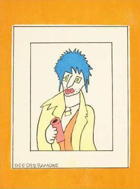 Sid Vicious by Dee Dee Ramone